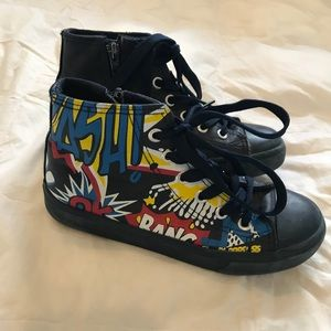 Other - Boy high top sneakers